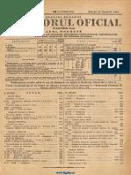 Monitorul Oficial, partea I-a, nr. 271, miercuri 22 noiembrie 1933