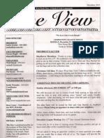December 2010 West Park View Community League newsletter