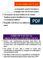 Curs 13 - Code of Nautical Procedures
