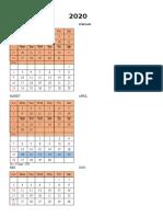Kalender 2020 (1lbr)