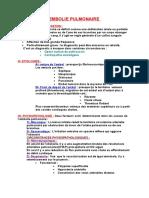 EMBOLIE PULMONAIRE.doc