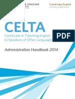 CELTA Handbook
