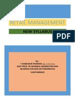 Retail Management -Habeeb Sir- New Syllabus
