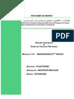 MAINTENANCE 2EME NIVEAU - M14 - T PLA-MRP