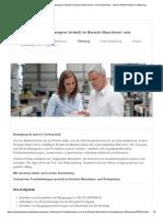 Technischer Produktdesigner (m_w_d) im Bereich Maschinen- und Anlagenbau - Job bei HIWIN GmbH in Offenburg