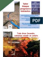 Taller Ataque Progresivo Hidráulico Béjar 2019