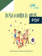 Cuento Rosa contra el virus