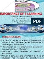 IMPORTANCE OF E-LEARNING.pptx