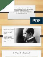 African-American-Spiritual-Presentation