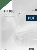 Manual Canon Hf10 Hf100 Cug Esp