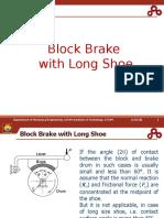 Block Brake with Long Shoe