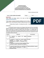 EXAMEN Fundamentos neurobiológicos de los aprendizajes CAMILA RIOS