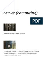 Server (computing) - Wikipedia