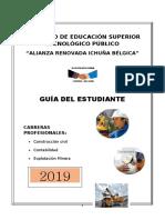 GUIA DEL ESTUDIANTE 2019. IESTP.IESTP ARIB.