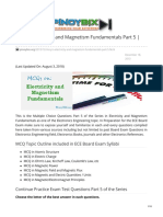 pinoybix.org-MCQ in Electricity and Magnetism Fundamentals Part 5  ECE Board Exam