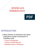 Ch2 Mendelian inheritance