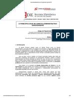 Principiologia do direito administrativo sancionador