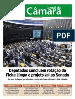 Jornal  Camara Federal caso bancoop