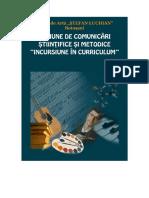 Incursiune in curriculum