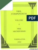 VRIL Compendium Vol 4 VRIL Archeforms