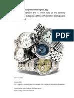 Gautschi Watch Industry Analysis