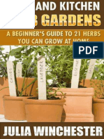 Patio and Kitchen Herb Gardens A Beginner's Guide to 21 Herbs You Can Grow at Home.epub