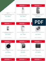 Americanas Eletrodomésticos - Ofertas válidas até 17.03