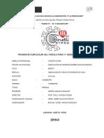 MODULO DE CARPINTERIA 4to  2019 II - ZENON