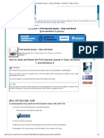 Print Spooler Queue - Clear and Reset - Windows 7 Help Forums