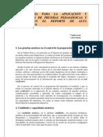 Metodologia Para La Aplicacion y Realizacion de Pruebas