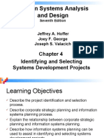 W2-Part II (System Planning and Selection) Chapter 4-Identifying and Selecting Systems Development Projects .ppt