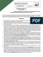 RESOLUCIÓN RECTORAL 027 (Asignación Académica 2018)
