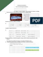 EVALUACIONES DEL TERCER PARCIAL 4TO - SEGUNDO QUIMESTRE