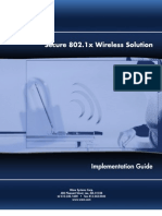 Secure 802.1x Wireless Solution