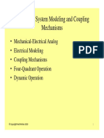 3 Mechanical System Modeling and Coupling
