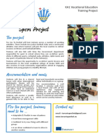 Sport Project - Training