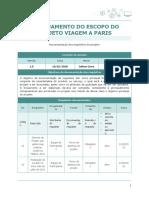 Gerenciamento do Escopo em Projetos - Jailson Medeiros de Lima