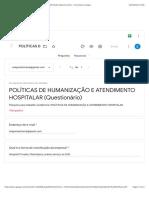 POLÍTICAS DE HUMANIZAÇÃO E ATENDIMENTO HOSPITALAR (Questionário) - Formulários Google.pdf