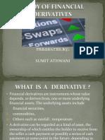 STUDY OF FINANCIAL DERIVATIVES