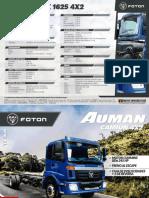 Camion-Foton-4x2-245-HP-azul