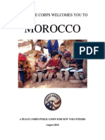 Peace Corps Morocco Welcome Book 2010