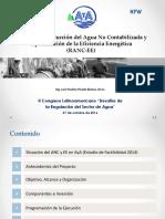 Presentación Programa RANC-EE 07octb16 - Congresos ARESEP