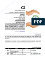 Programa Ciudad, Hábitat y Vivienda (2) II Semestre 2015 (1)
