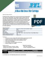 PFI PPMG Polypropylene Meltblown new datasheet