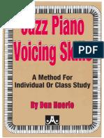 Jazz piano voicing skills - Dan Haerle
