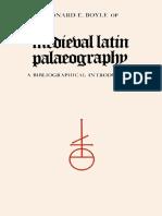Leonard E. Boyle - Medieval Latin palaeography _ a bibliographical introduction-University of Toronto Press (1986)