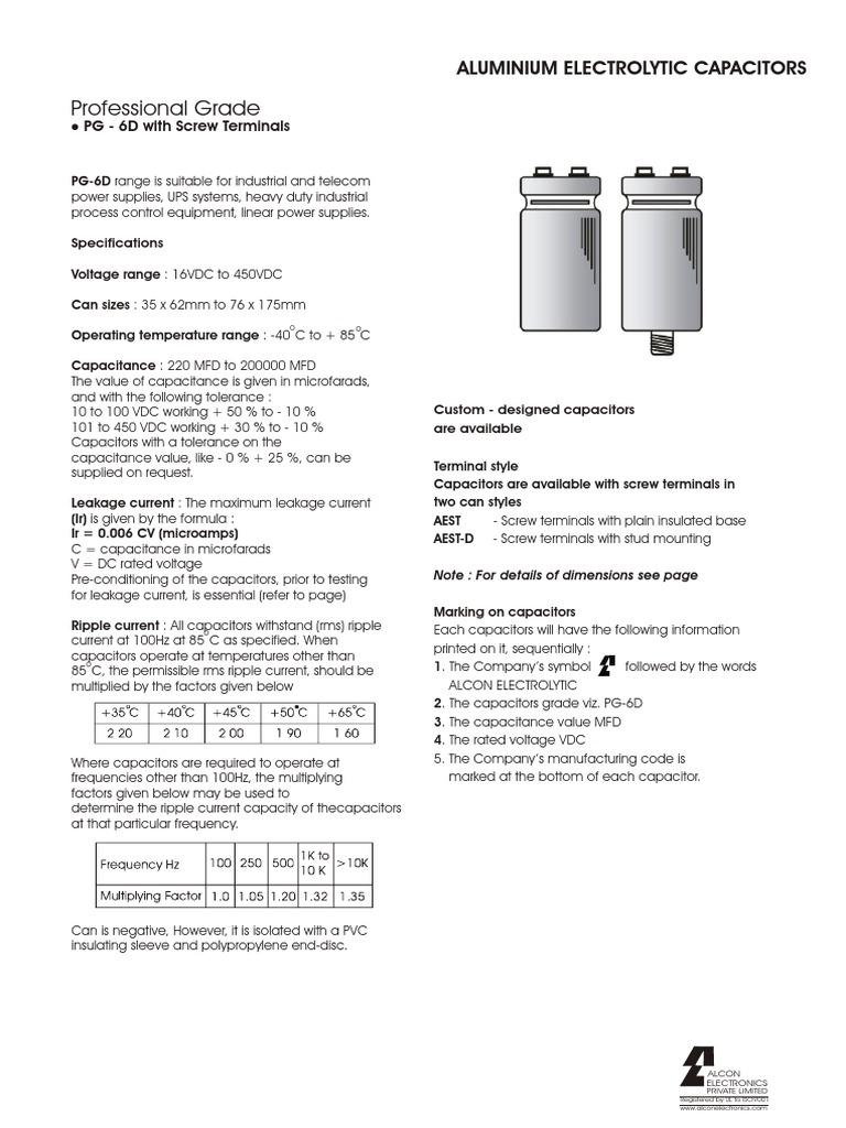 1000 Mfd  Microfarad 25 Volt Electrolytic Capacitor X6