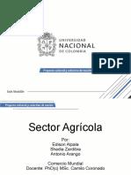 Sector Agrícola - Comercio Mundial
