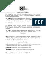 marzo 19 Mod Superint Proyecto de Resolucion Proyectos de factibilidad.docx