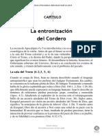 CAPÍTULO 4 -LA ENTRONIZACIÓN DEL CORDERO-